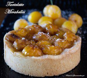 Tartelette Mirabelles