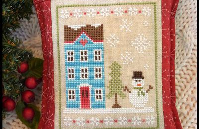 Snow Place Like Home: La nueva colección de Country Cottage Needleworks
