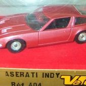 MASERATI INDY 1/43 VEREM GRAND SPORT - car-collector.net