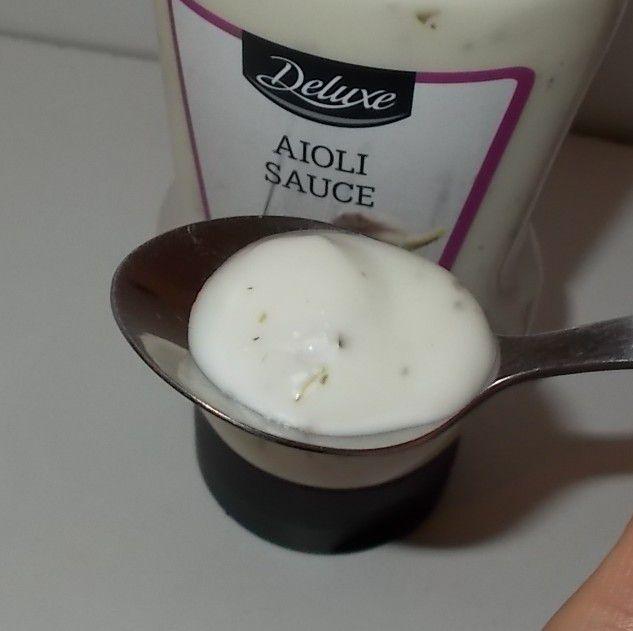 Lidl Deluxe Aioli Sauce