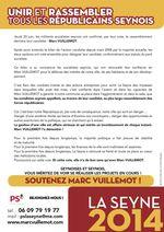 Municipales : les socialistes seynois la jouent... démocrates