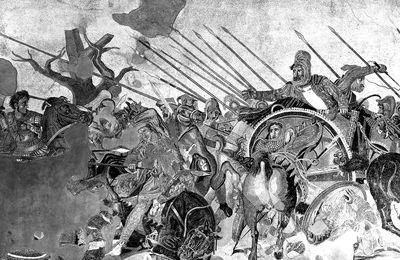 Alexandre le Grand et la Bataille d'Issos, une mosaïque à sa gloire
