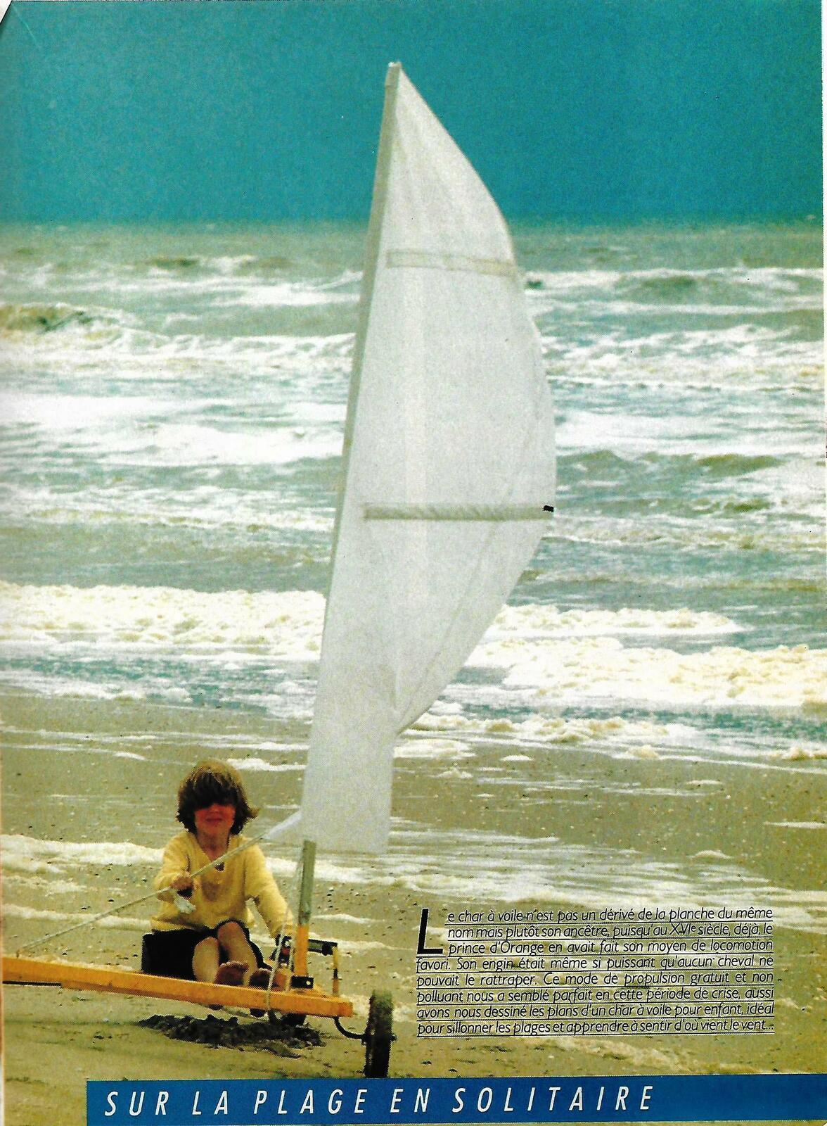 Le char de plage