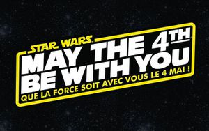 May the 4th ,be with you!