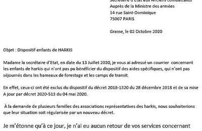 Communiqué du  Collectif des Associations des Harkis des Alpes-Maritimes