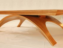 Table basse contemporaine ZEBRANO