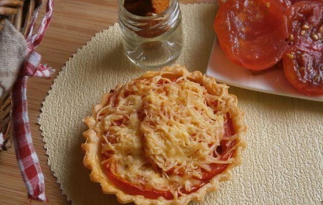 """Tartelettes à la tomate & """"chorizo végétal"""" ~ recette végétarienne ~"""