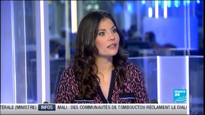 2013 02 25 - ELISABETH ALLAIN - FRANCE 24 - PARIS DIRECT @06H35