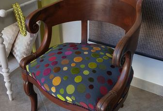 refection fauteuil restauration arabesque thiers