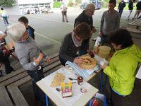 Les enfants ont apprécié les crêpes. Les adultes aussi.