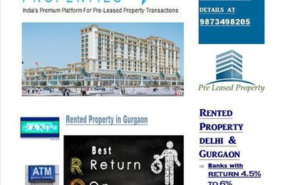 Pre-leased Property for sale in Gurgaon, 9810009339