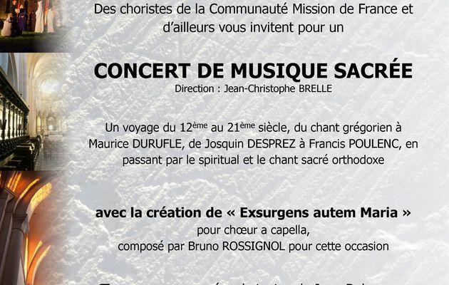 La Mission de France fête les 900 ans de l'Abbatiale de Pontigny (Yonne)