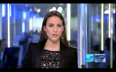 2012 04 03 @18H19 - JESSICA LE MASURIER, FRANCE 24, THE NEWS