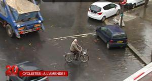 MA RUBRIQUE DU VELO : Des amendes spéciales pour les cyclistes qualifiés de « fous du guidon » ?