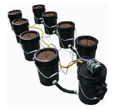 homemade hydroponic system-weed growing kit-hydroponic indoor gardening