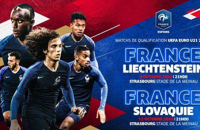 France / Liechtenstein (Espoirs) en direct ce jeudi sur Canal+Décalé !