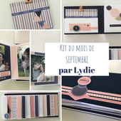 KIT201909 : KIT ALBUM SEPTEMBRE 2019 PAR LYDIE
