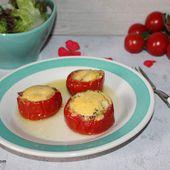 Quiche façon tomates farcies - Chez Vanda