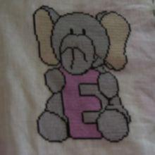 ABC animaux, la lettre E