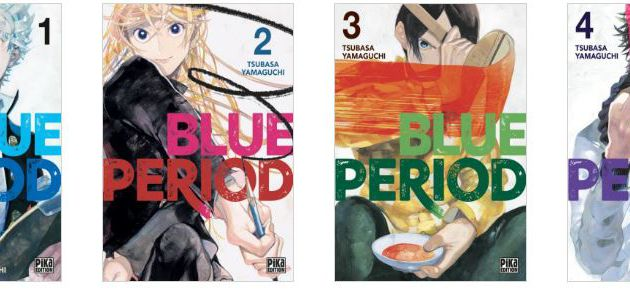 Blue Period / Tomes 1 à 4