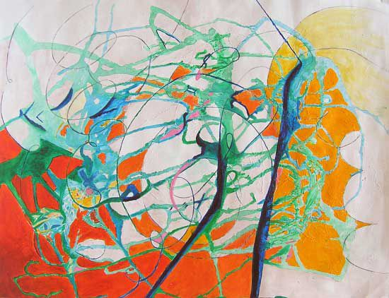Effervescences - 8 peintures - 2002/2013