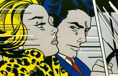 In the Car @ Roy Lichtenstein. 1963