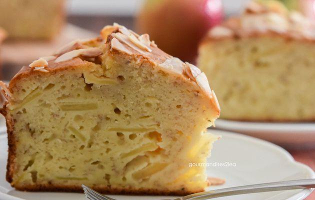 Cake à la banane et à la pomme