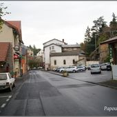 Rue des thermes à St Nectaire - L'Auvergne Vue par Papou Poustache