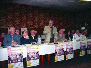 Election du maire Roland RUSCHER en 2001 à Algrange