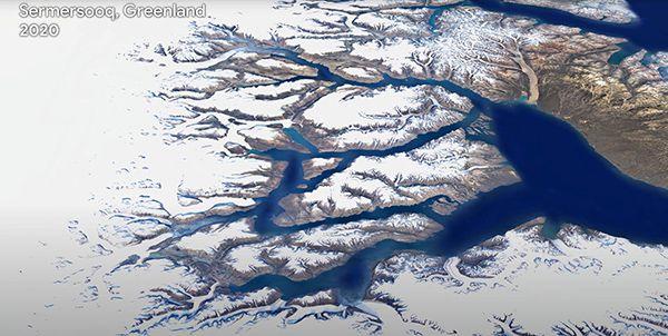 timelapse  Copyright Google Earth Timelapse Google Landsat Copernicus