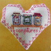 Cœur Valentin Gourmandises : Les Confitures , face b - Chez Mamigoz