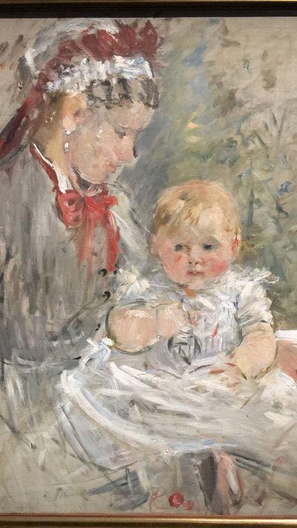 Musée d'Orsay, À l'heure de femmes 3 Berthe Morisot à l'honneur