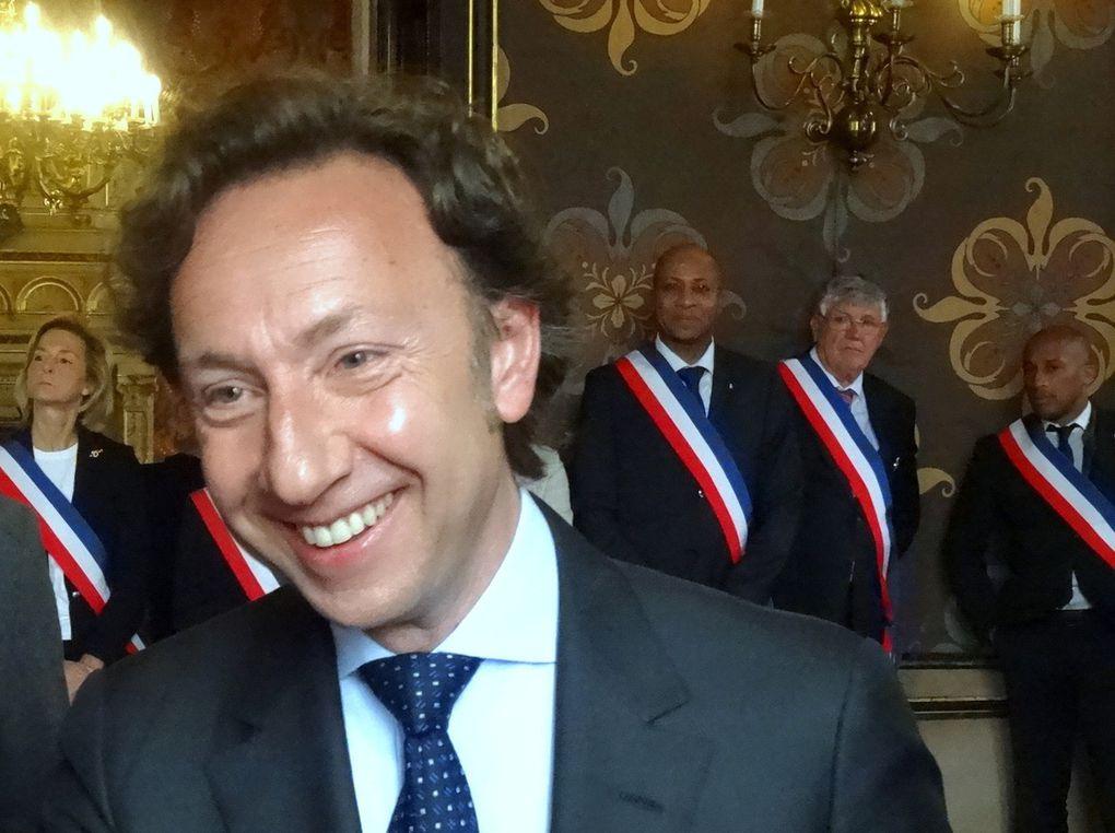 Stéphane Bern, invité d'honneur des Fêtes de Jeanne d'Arc 2014 à Orléans.
