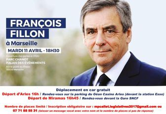 François Fillon en meeting à Marseille