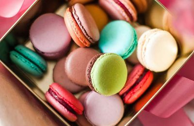Macarons - Gourmandises - Pâtisserie - Picture- Free