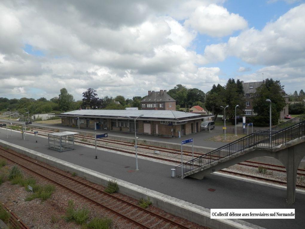 La gare et les quais ! Photos du Collectif
