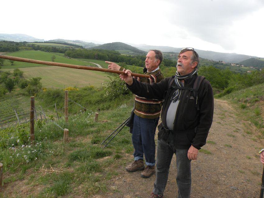 """Sentier """"découverte des pics"""" à Champdieu"""