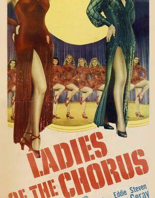 Les reines du music-hall (Ladies of the chorus)