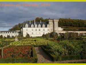 Château de Villandry  2014.