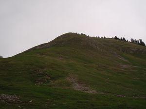 Pointe de Vélan: Depuis la station de Seythenex