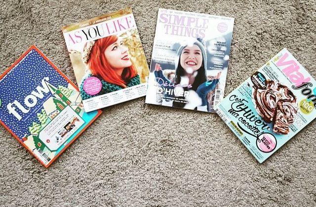 Quelques magazines pour le week-end