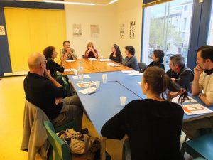 Moment de réflexions et de jeux et signature de la Charte des Manifestations par Pascale Dondey et Céline Thomasset