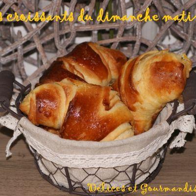 Les croissants du dimanche !