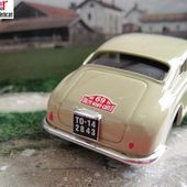 LANCIA AURELIA B20 1954 RALLYE MONTE CARLO 1/43 BRUMM - car-collector.net