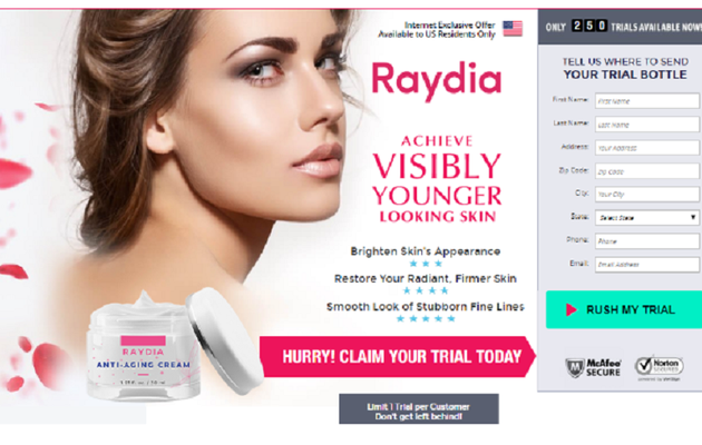 Raydia Cream - The Best Anti Aging Formula For Your Skin ...