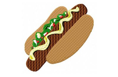 BRODERIE HOT DOG