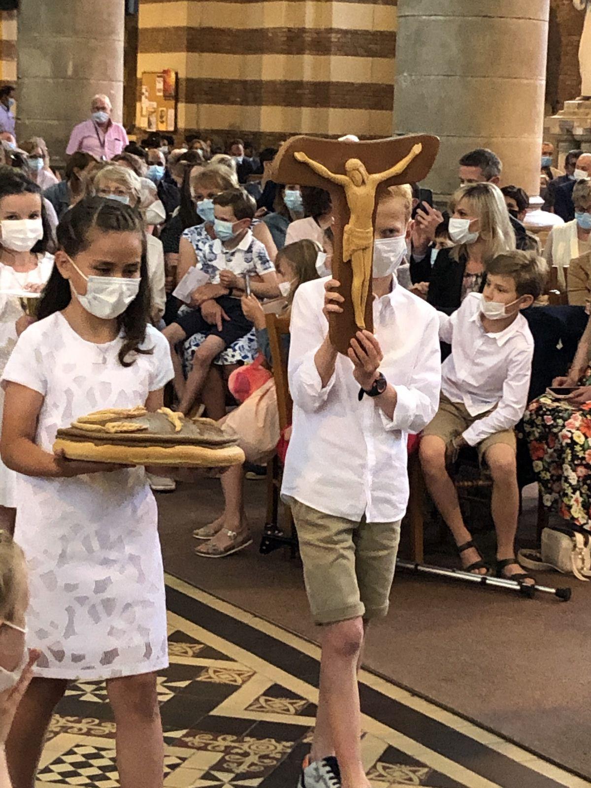 Célébration des premières communions