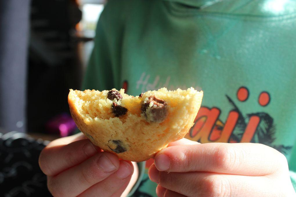 COOKIES AUX DEUX CHOCOLATS POUR LA BATTLE FOOD #40