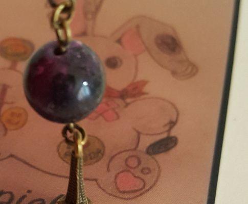 Mes boucles d'oreilles LAPICLOU, créatrice de bijoux