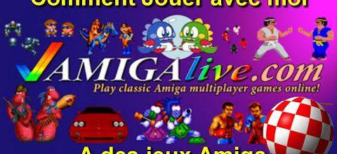 Tutoriel - Comment Jouer à plusieurs à des jeux Amiga via Amigalive !